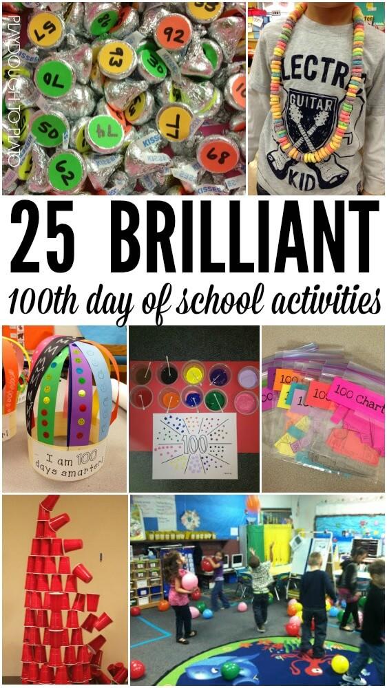 25 Brilliant 100th day of school activities.
