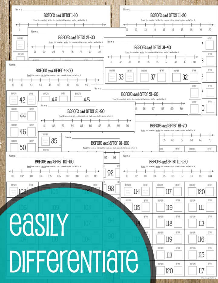 Easily Differentiate - NO PREP Place Value Activity Pack