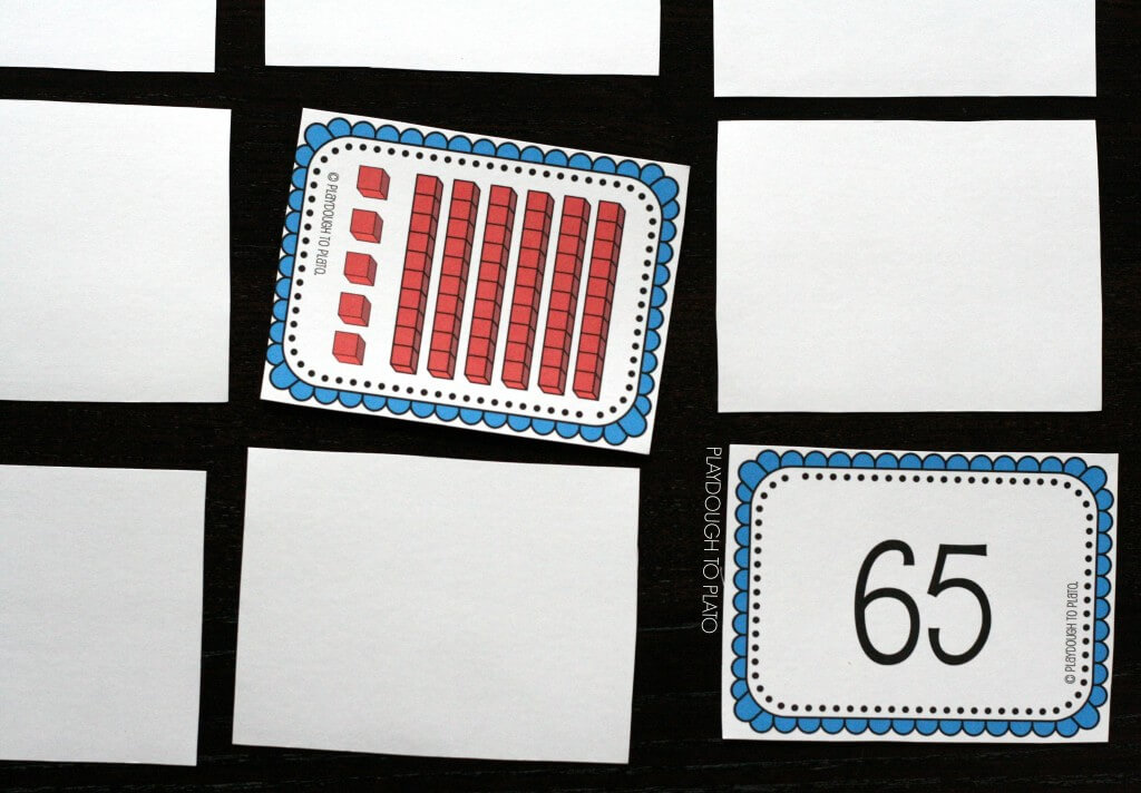 FREE Printable place value concentration. Awesome!!