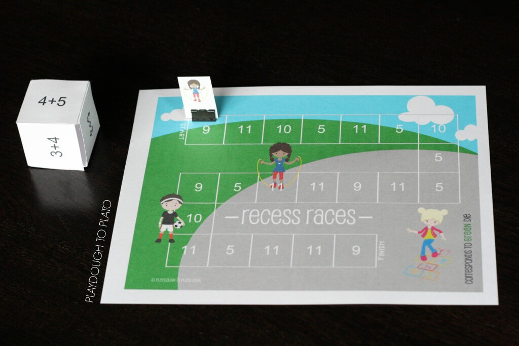 This is awesome! 15 EDITABLE math fact games.