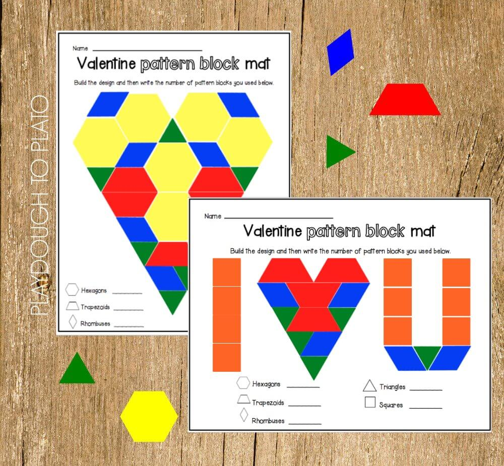 Pattern Block Fractions New Decorating Design