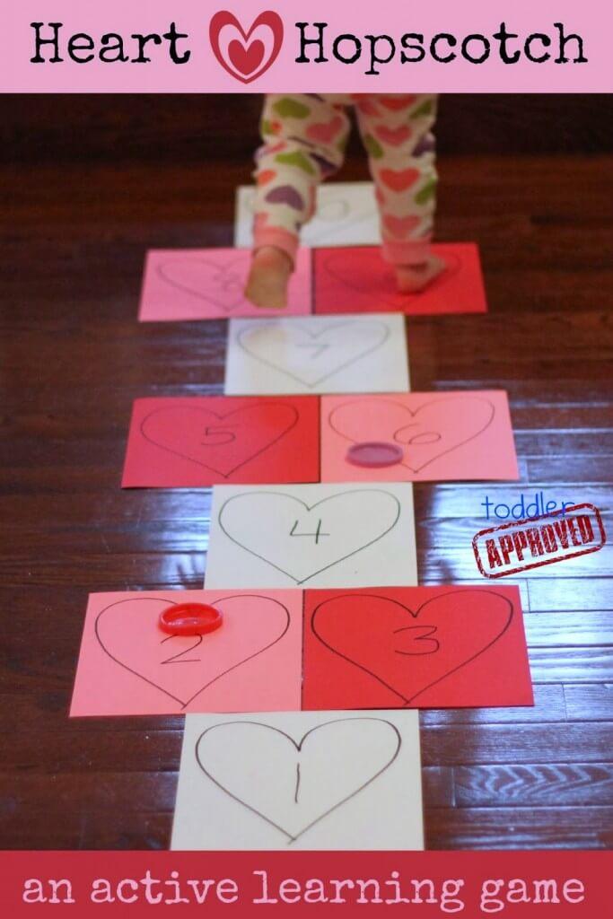 heart hopscotch