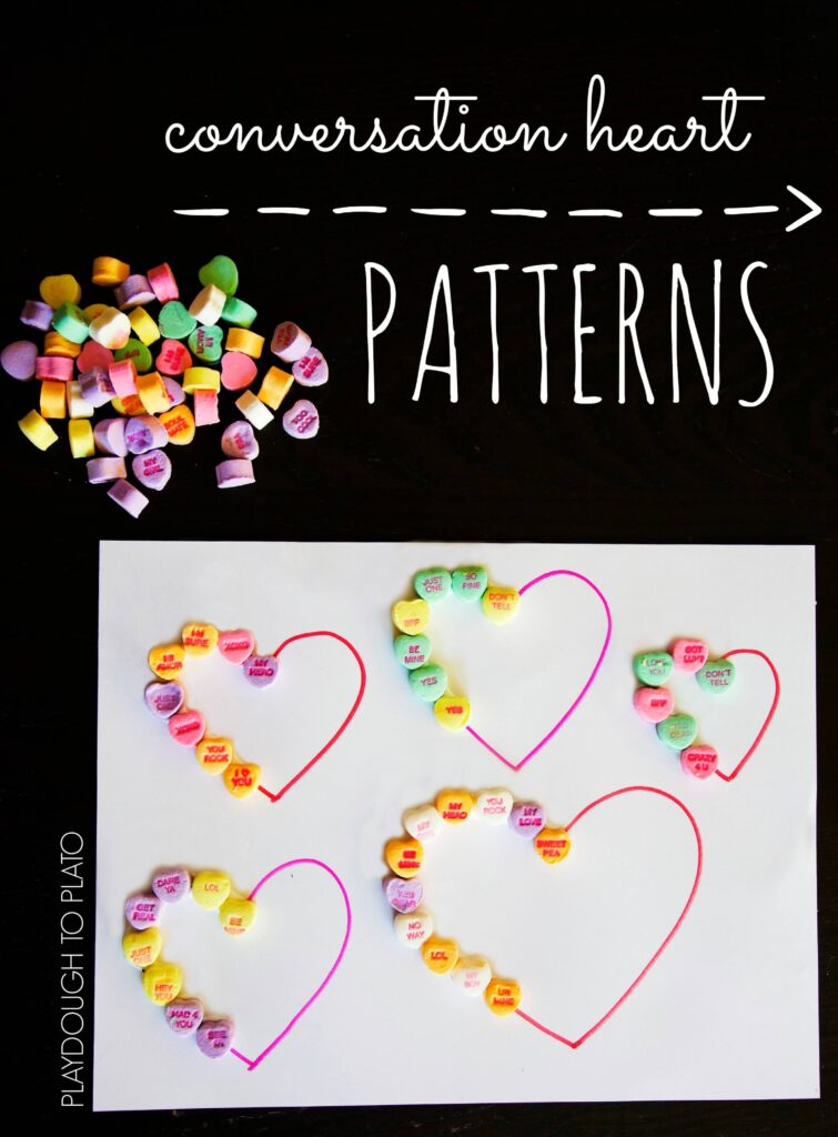 Conversation Heart Patterns!