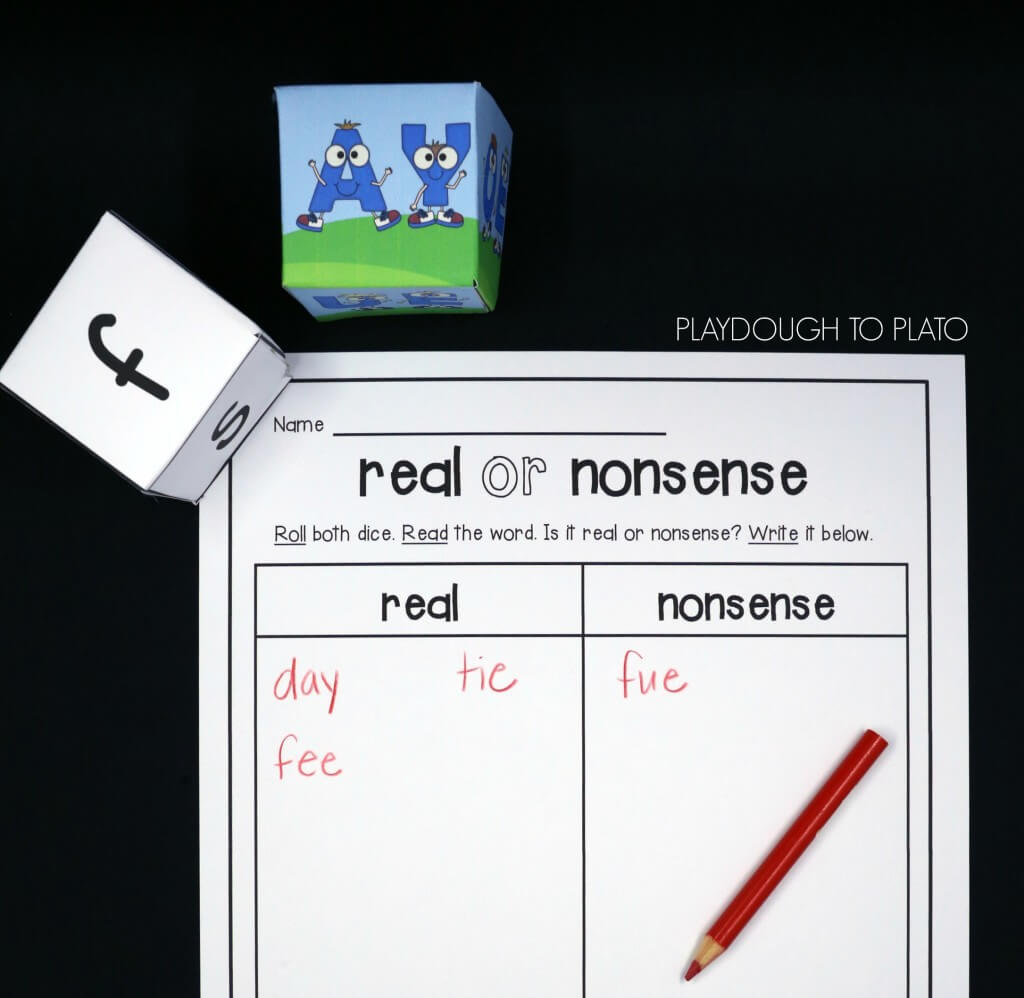 Roll a word. Is it real or nonsense