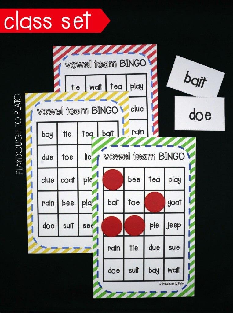 Vowel Team Bingo!