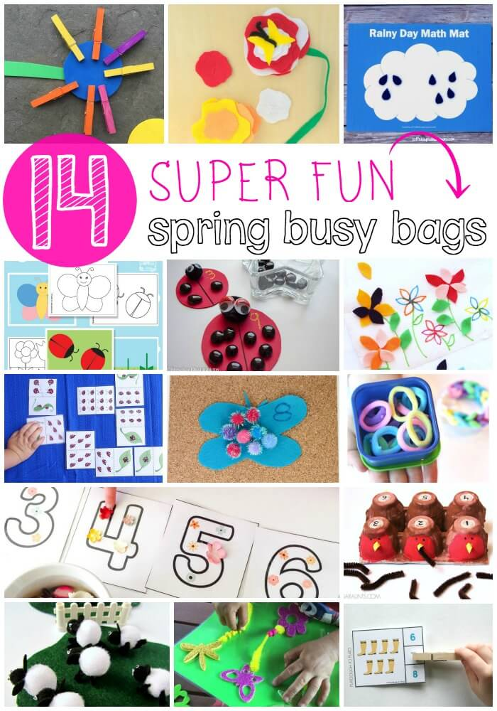 14 Super Fun Spring Busy Bags