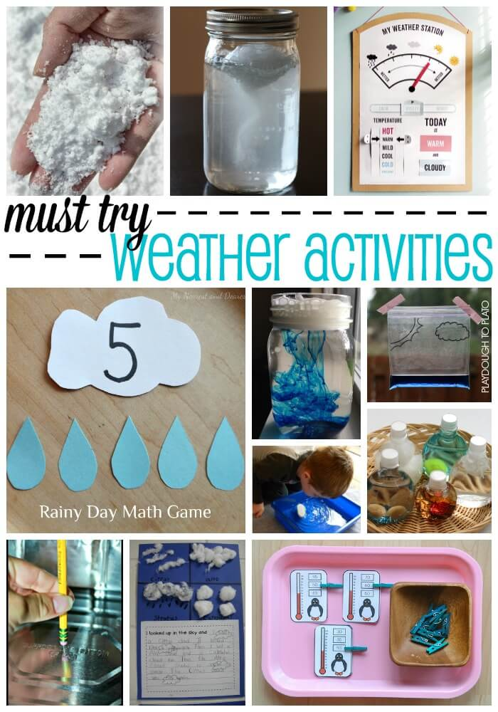 Must-Try Weather Activities for Kids