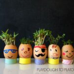 Egg Head Planters