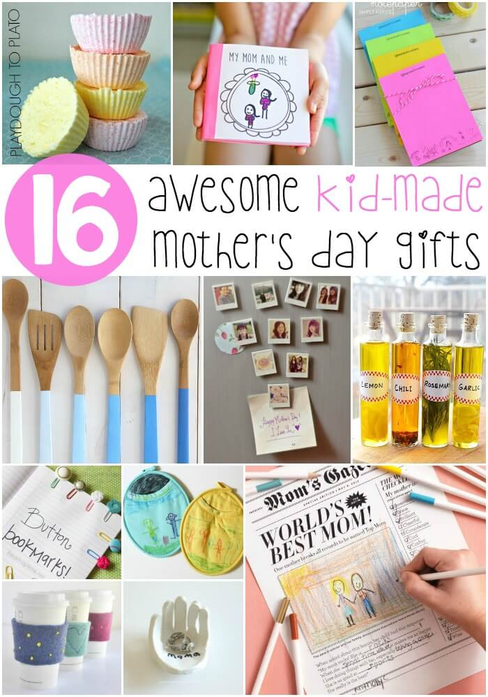Kid-Made Mother's Day Gifts Moms Will Love