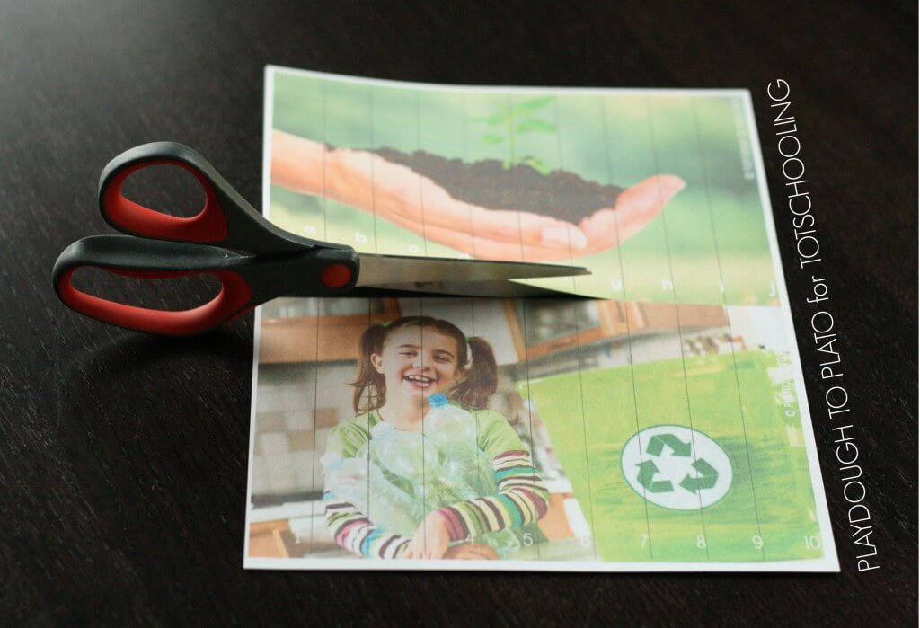 FREE Earth Day Puzzles for Kids.