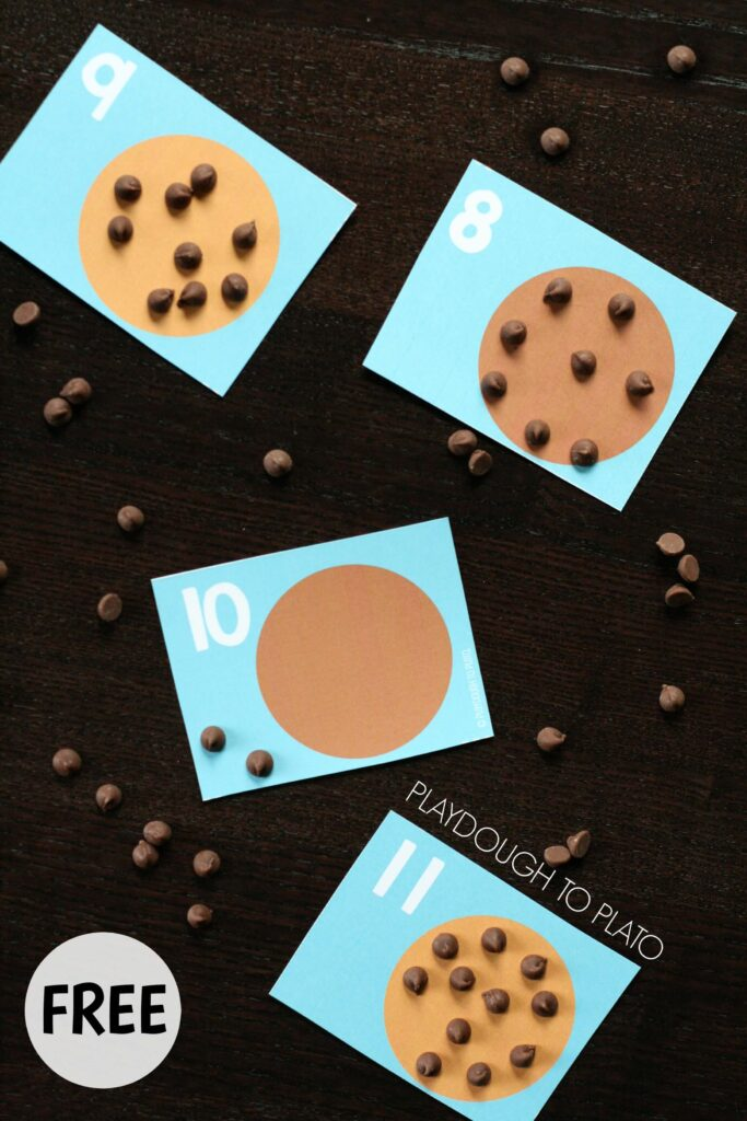 FREE If You Give a Mouse a Cookie Counting Cards