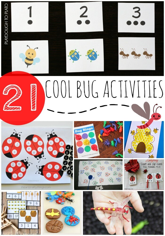 21 super cool bug activities for kids