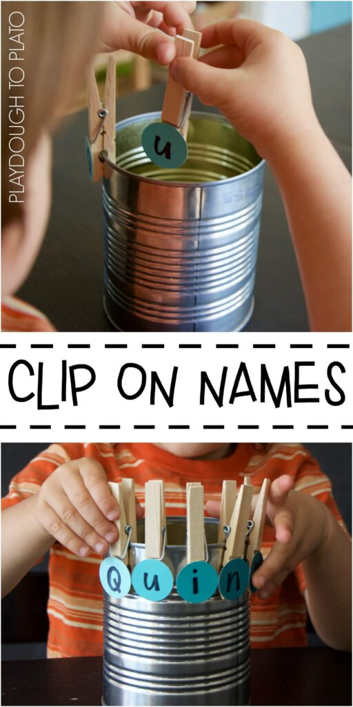 Clip on Names
