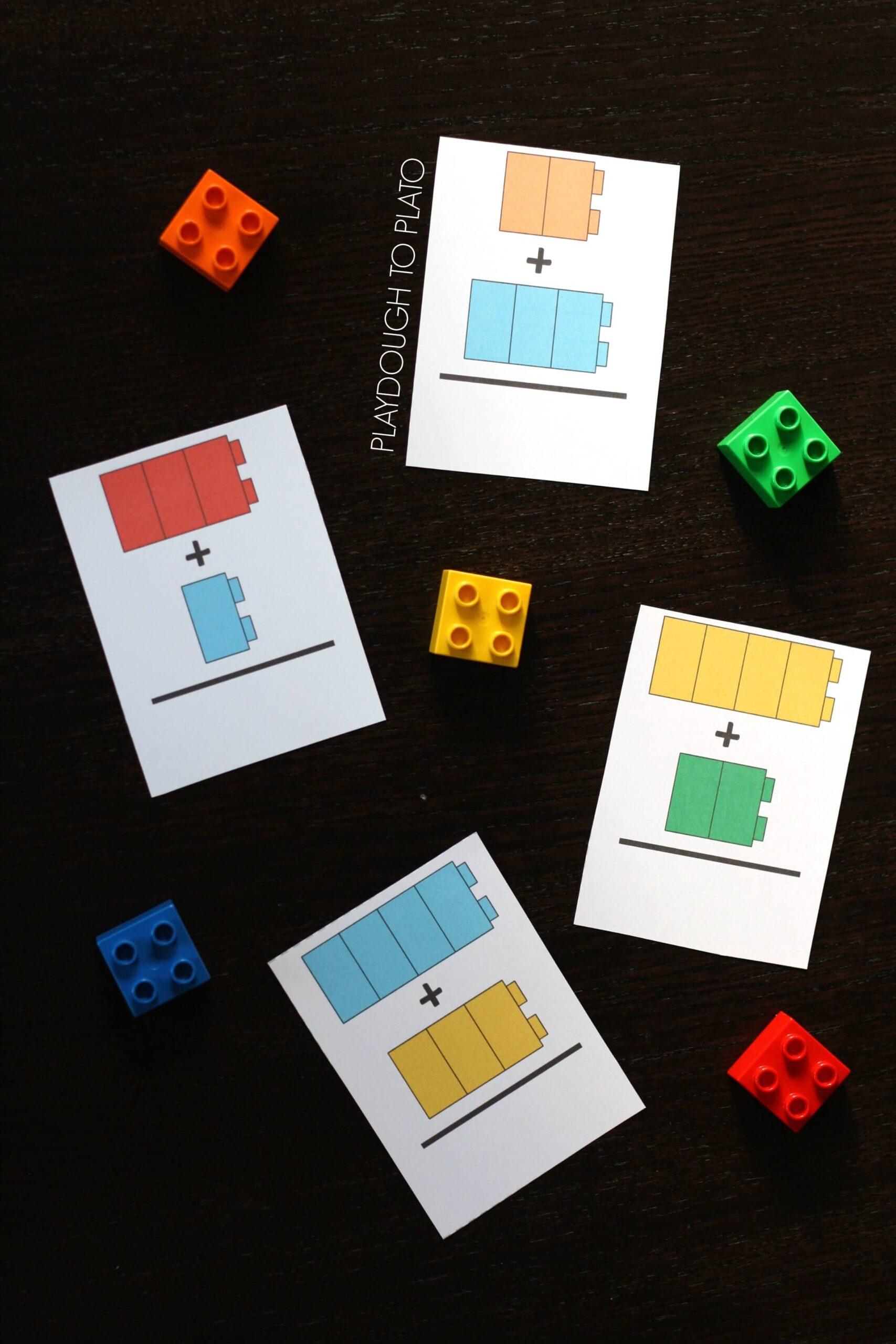 LEGO Addition Cards