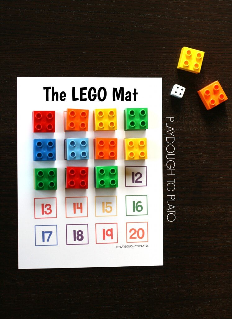 Free LEGO Mat and lots of ways to use it