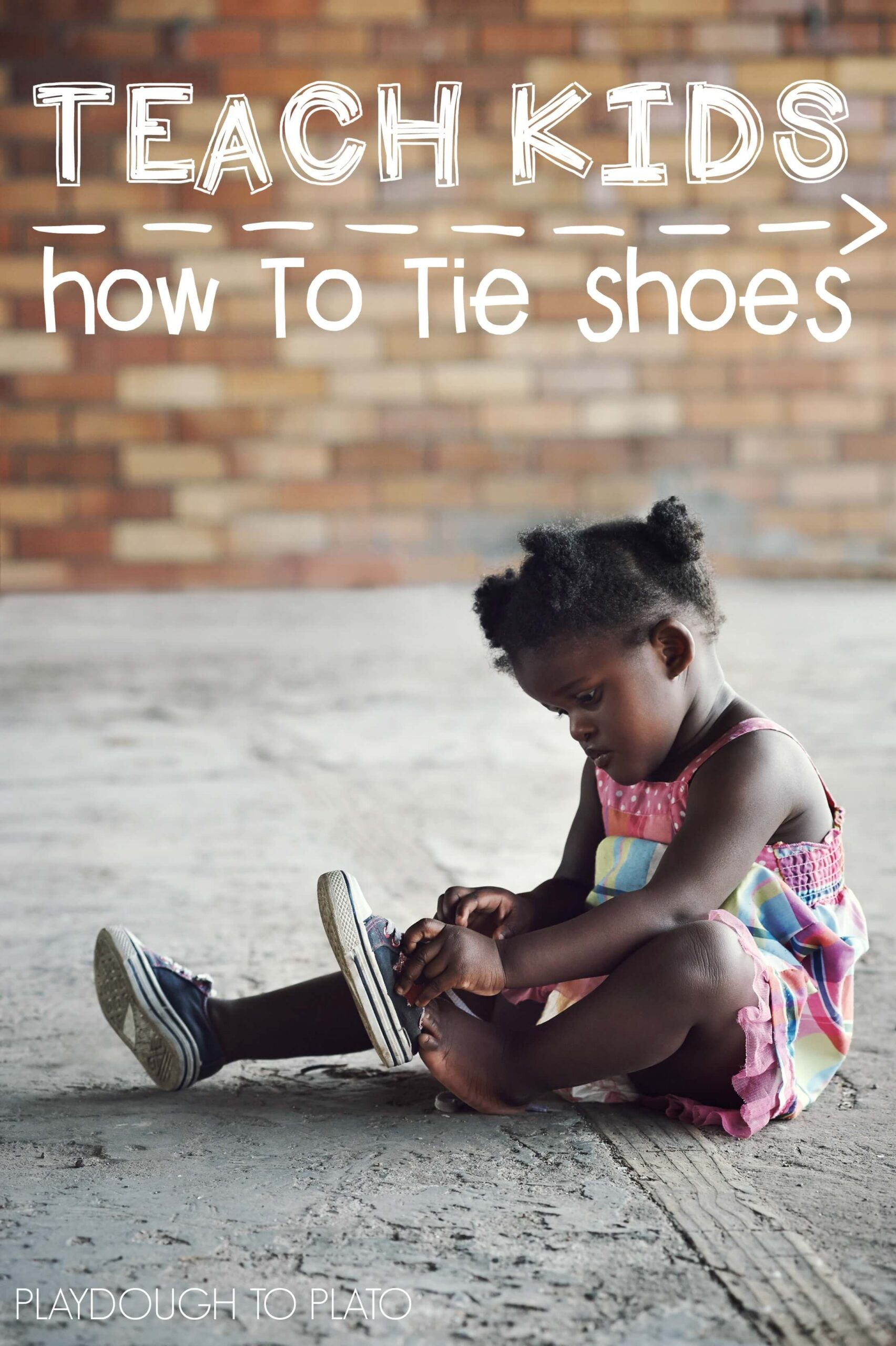 Teach Kids to Tie Shoes