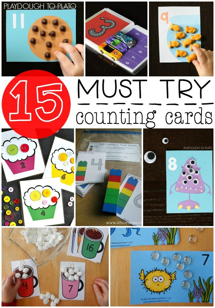 15 Must Try Counting Cards for Kids