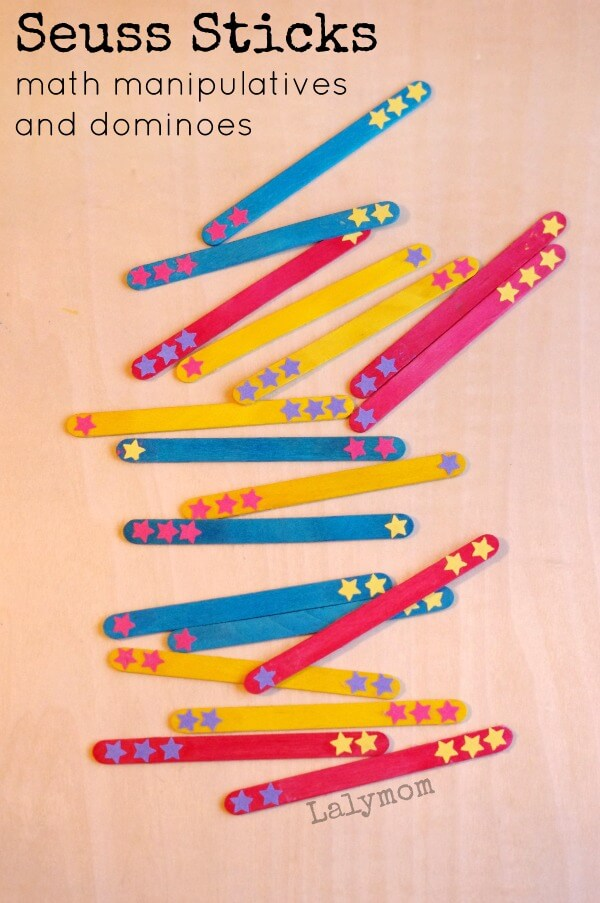 Dr.-Seuss-Crafts-Seuss-Sticks-DIY-Dominoes-and-Math-Manipulatives
