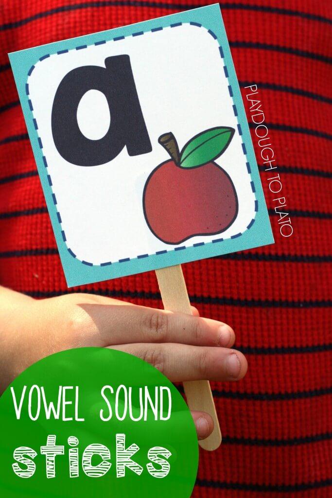 Hands-on Vowel Sound Sticks!