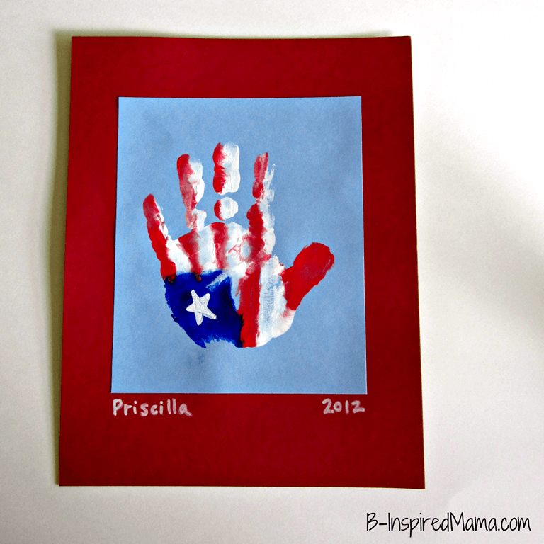 Patriotic Hand Print Craft 1[2]