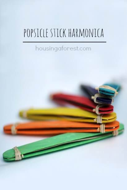Popsicle-stick-Harmonica