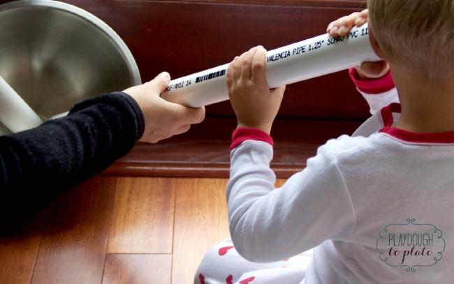 Sound Vibration Activity with Kids