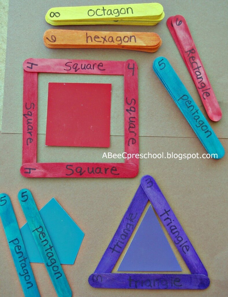 craft stick shapes
