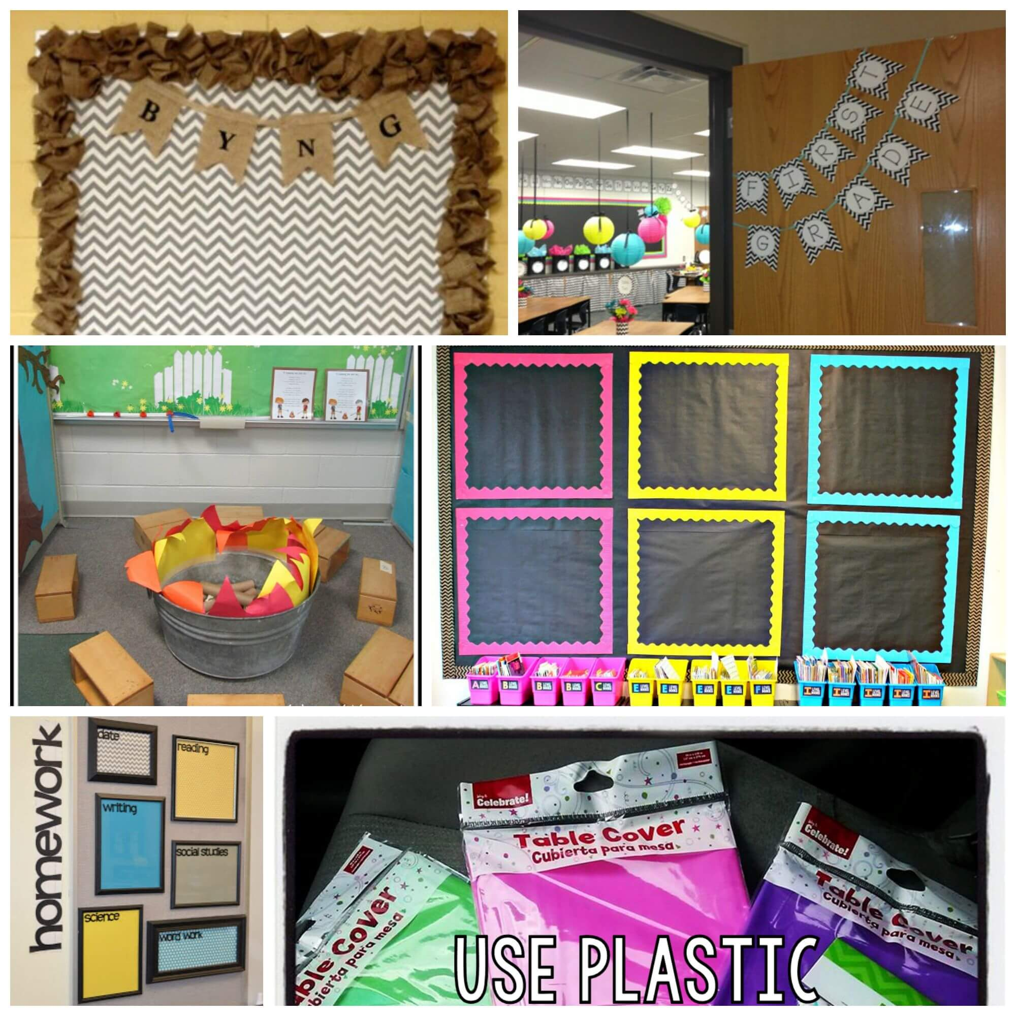 Classroom Decoration Charts For Primary School : Inspiring classroom decoration ideas playdough to plato