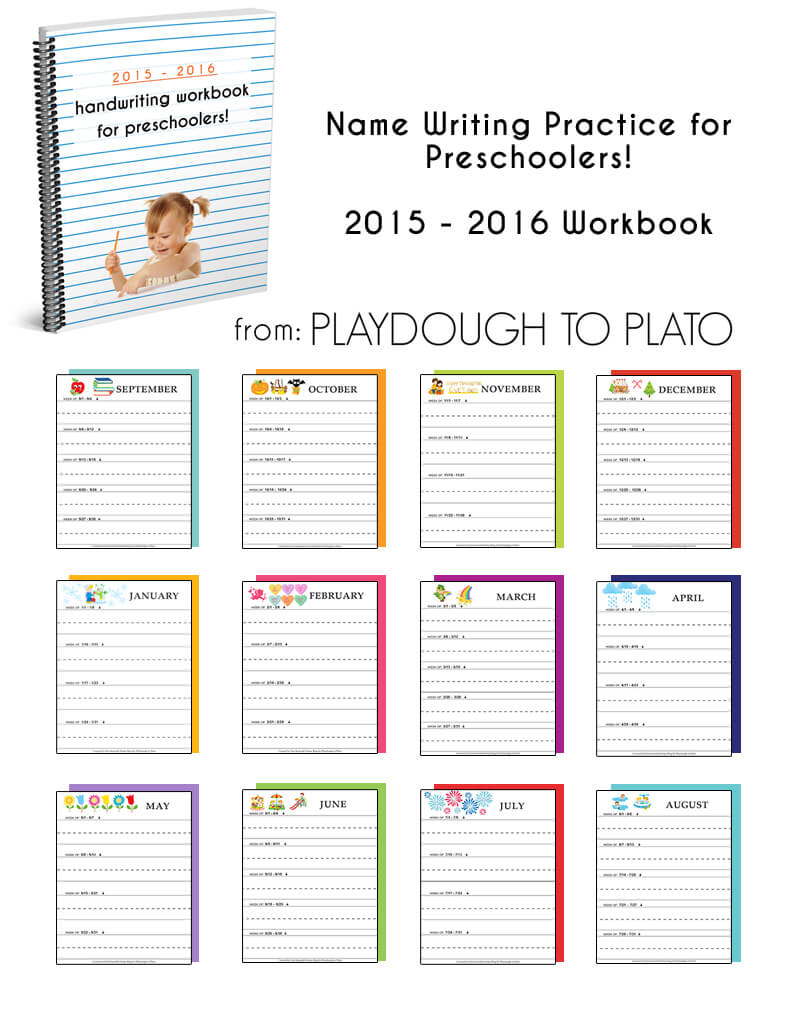2015 - 2016 Handwriting practice Booklet
