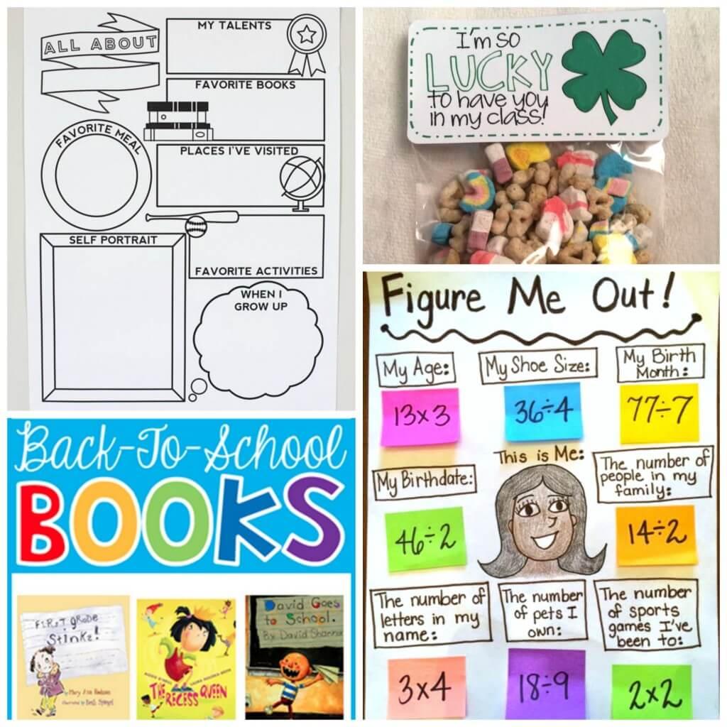 Lots of back to school ideas for teachers