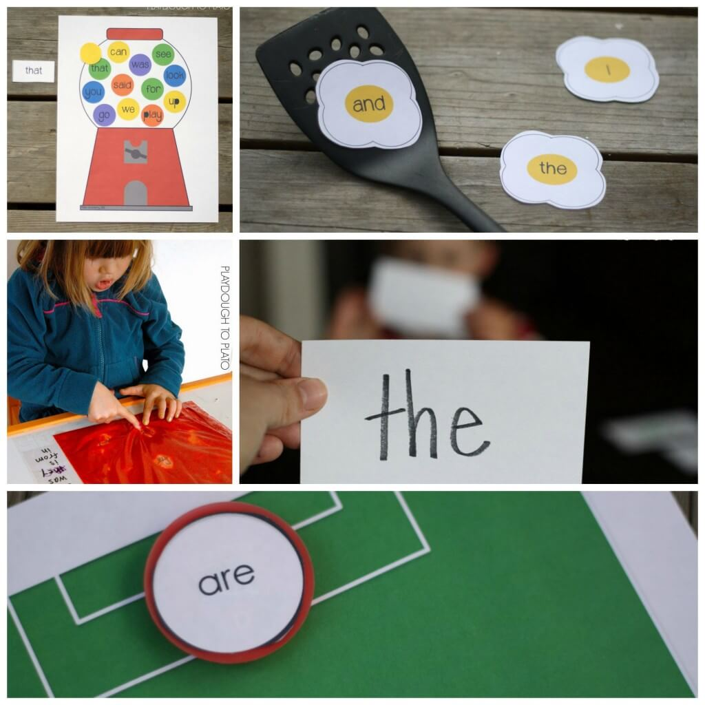 Super fun sight word games for kids