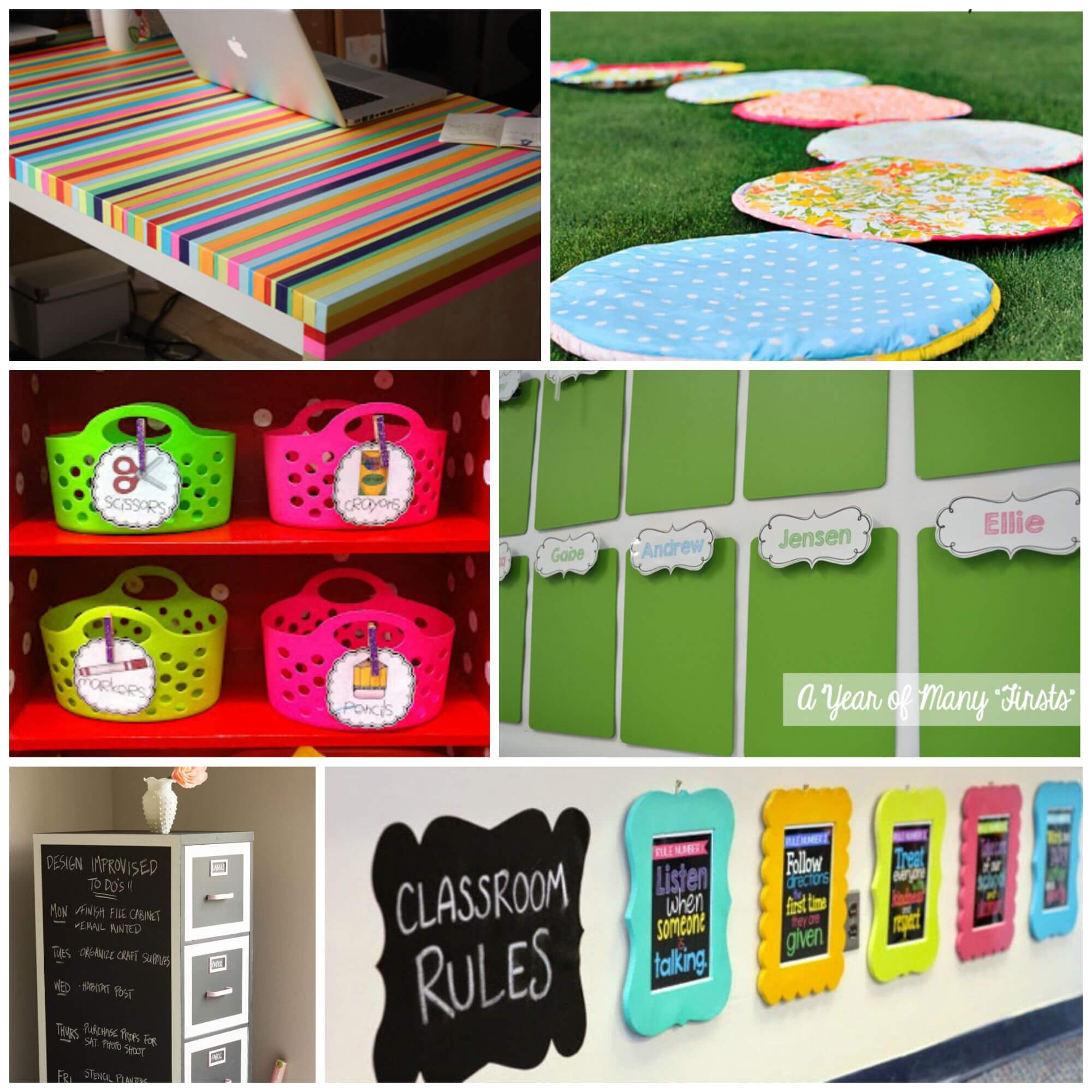 Art Decoration Ideas For Classroom ~ Inspiring classroom decoration ideas playdough to plato