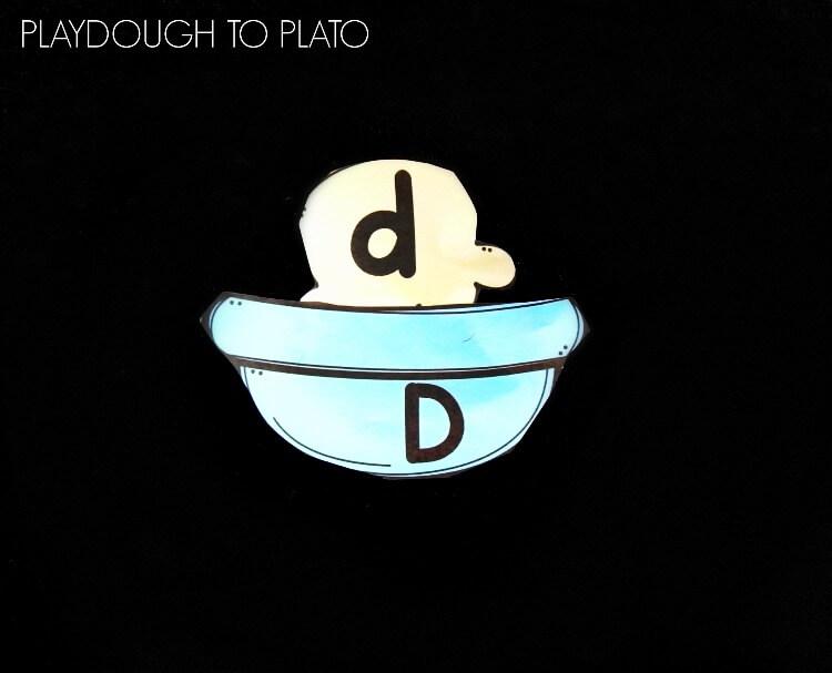 ice cream alphabet match 1