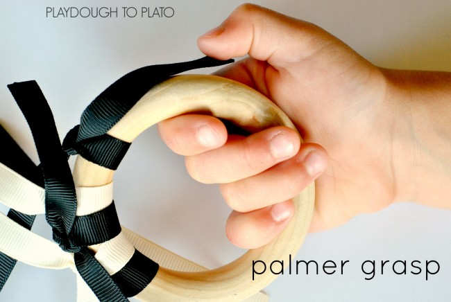 palmer grasp - Playdough to Plato