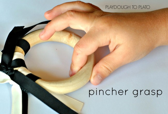 pincher grasp - Playdough to Plato