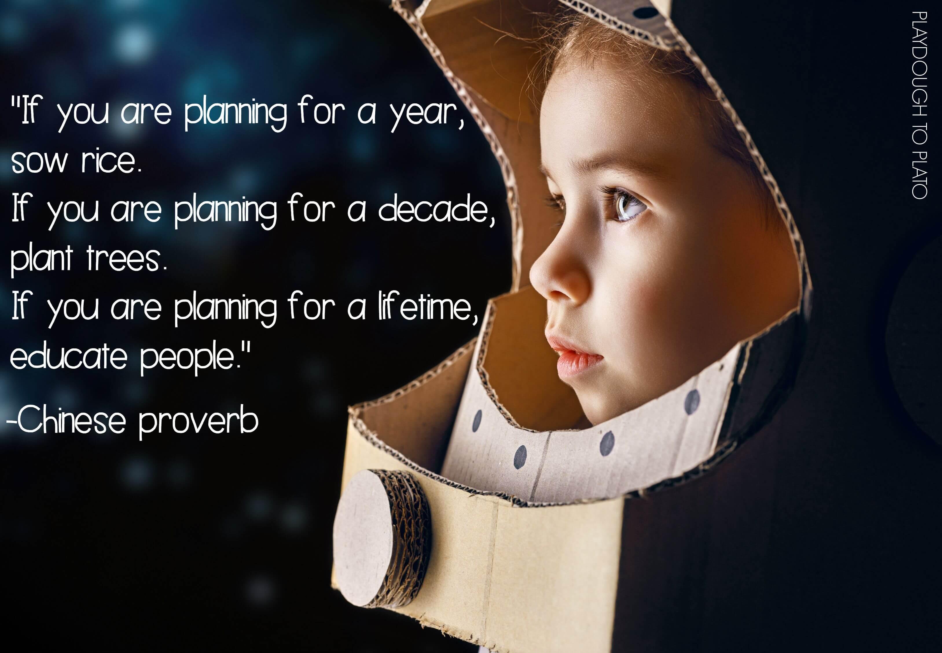 10 Inspiring Teacher Quotes - Playdough To Plato
