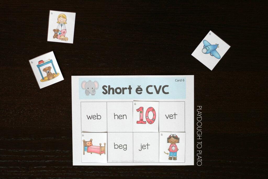 FREE Short Vowel Sorting Mats