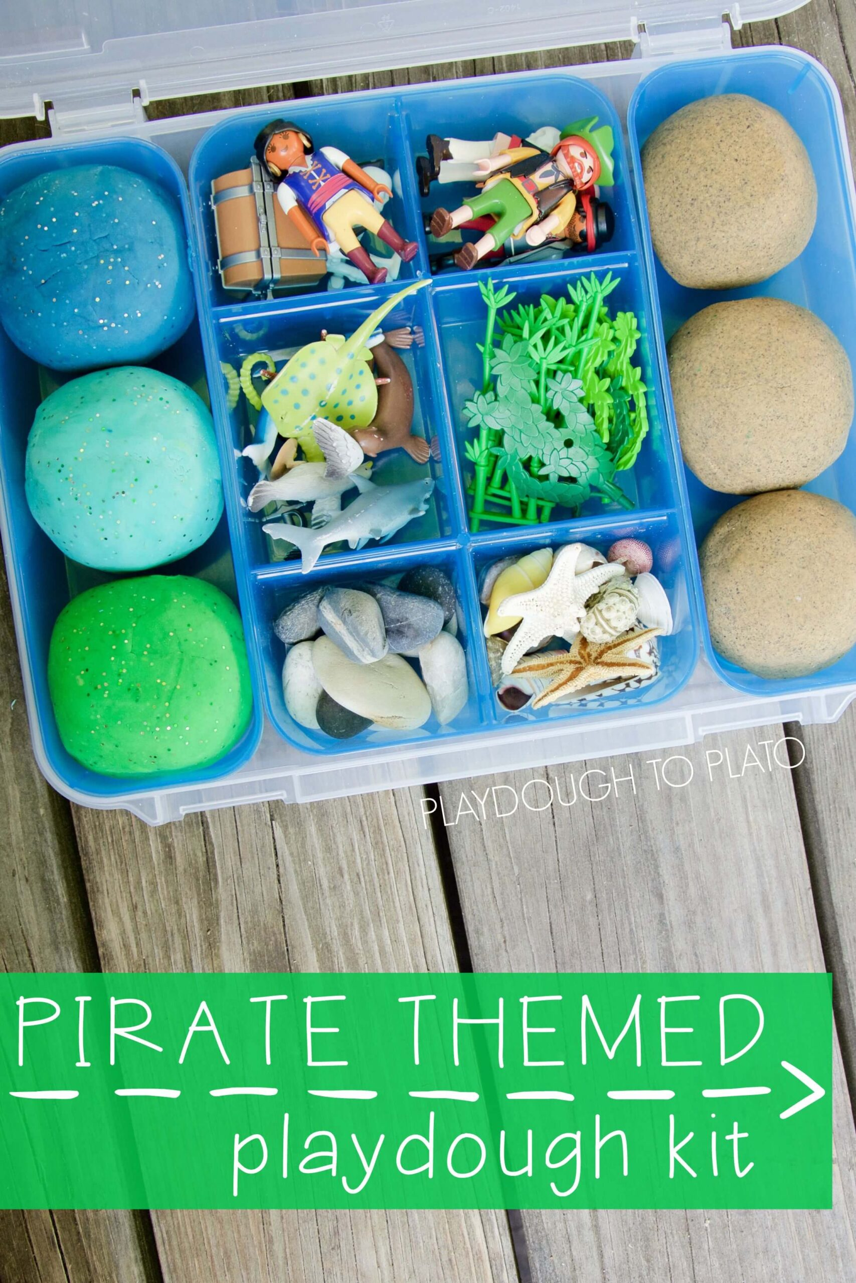 Pirate Themed Playdough Kit