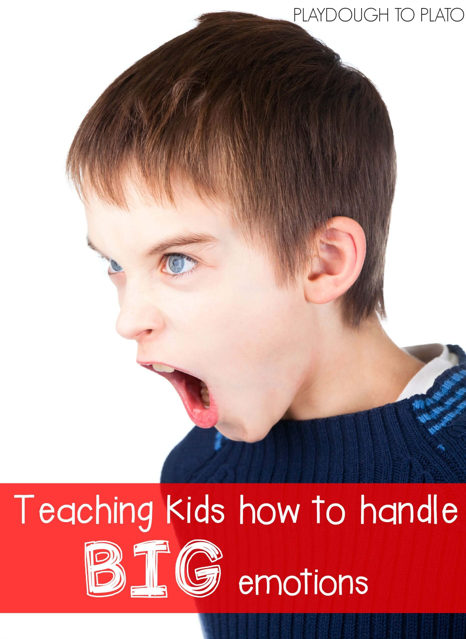 Teaching Kids How to Handle BIG Emotions