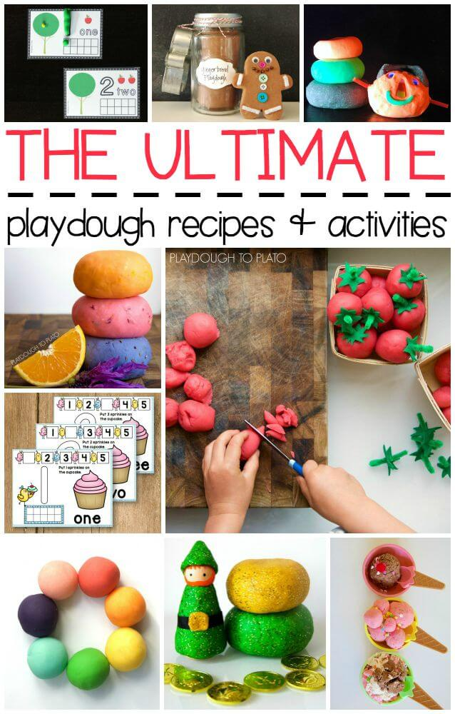 The Ultimate Playdough Recipes and Activities