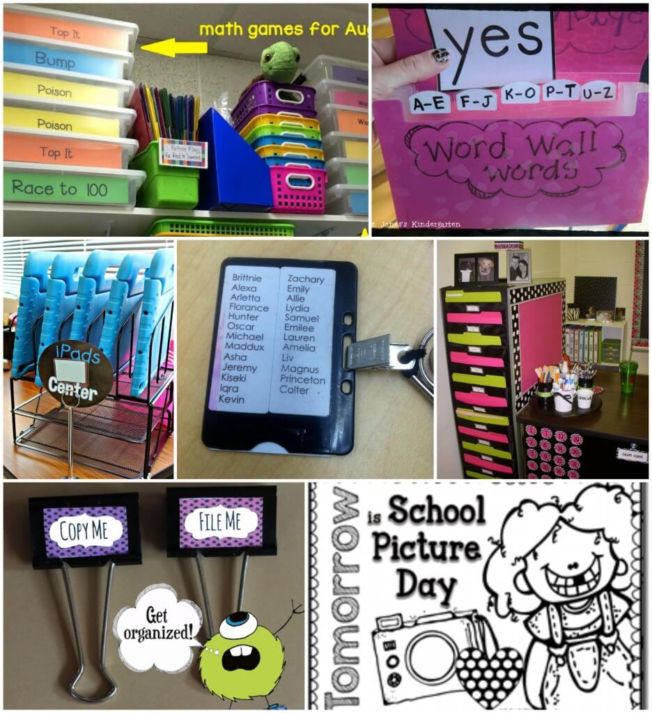Super classroom organization tips!