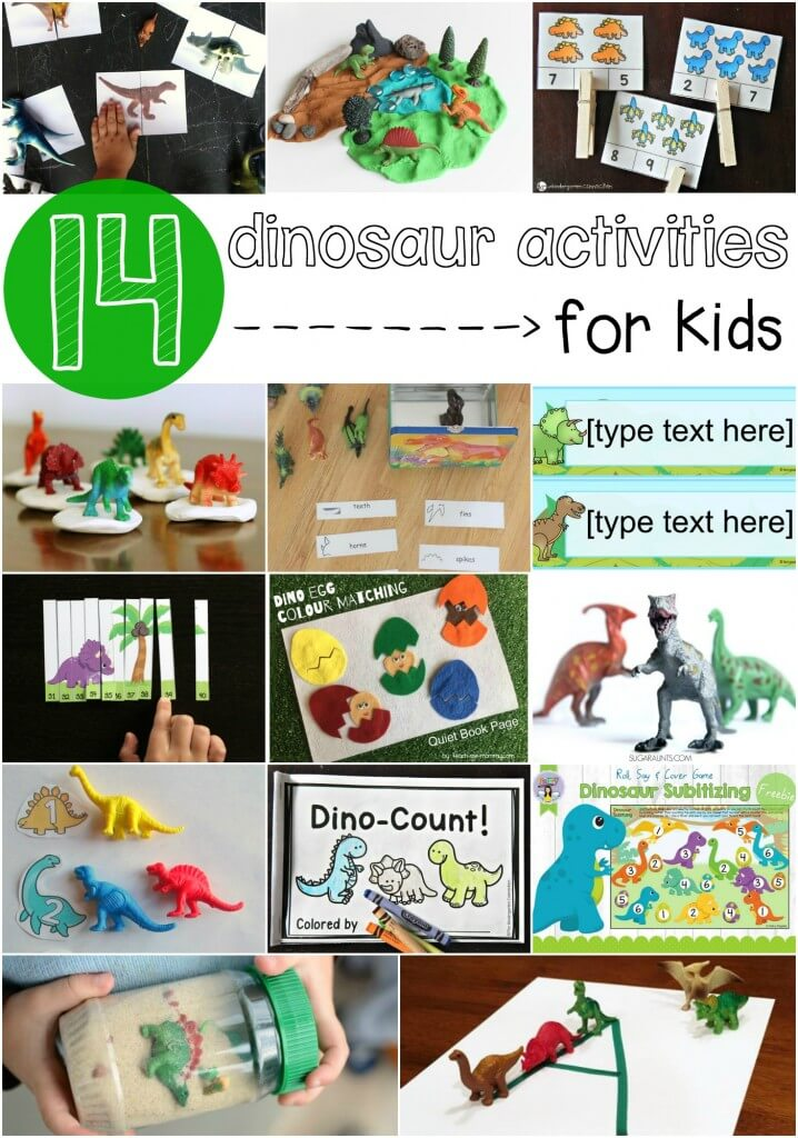 14 must-try dinosaur activities for kids!