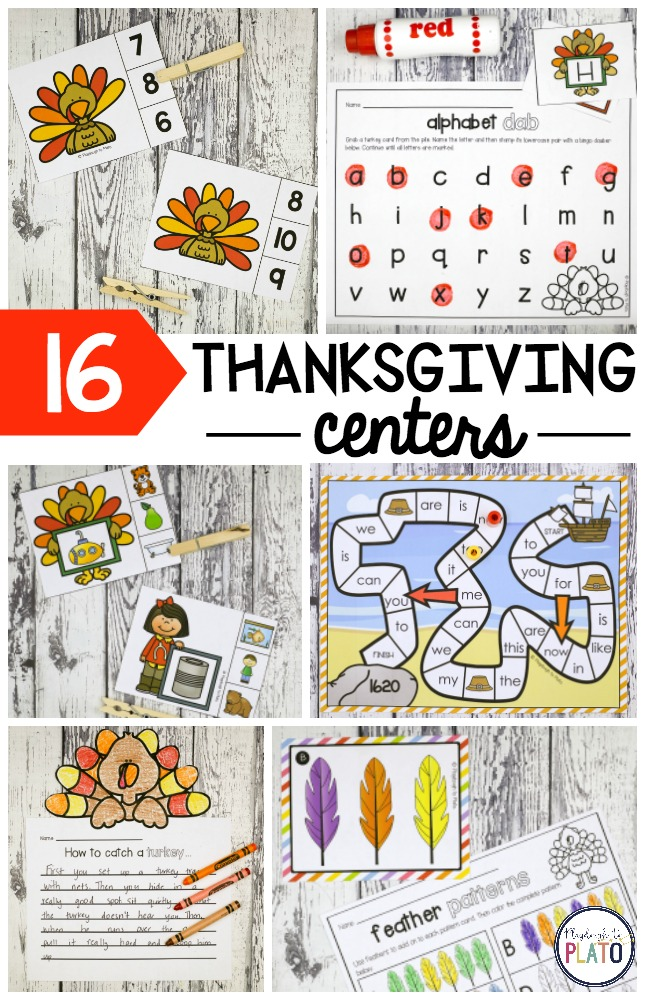 16 Thanksgiving Centers