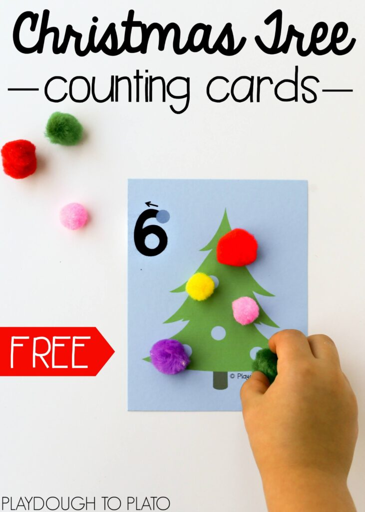 free-christmas-tree-counting-cards