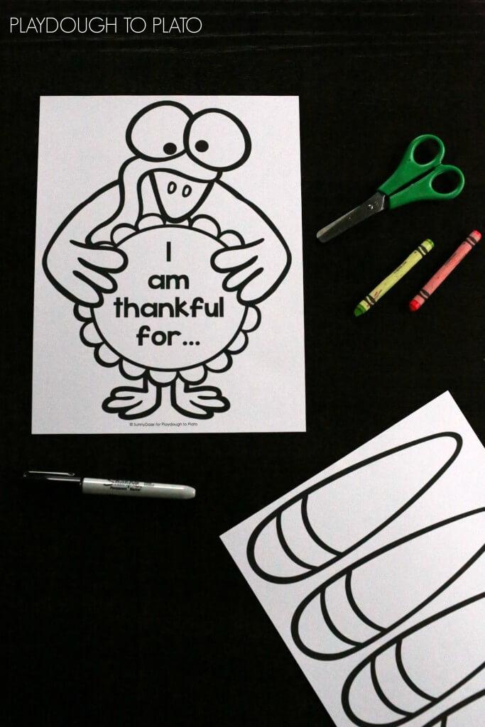 Fun free Thanksgiving craftivity!