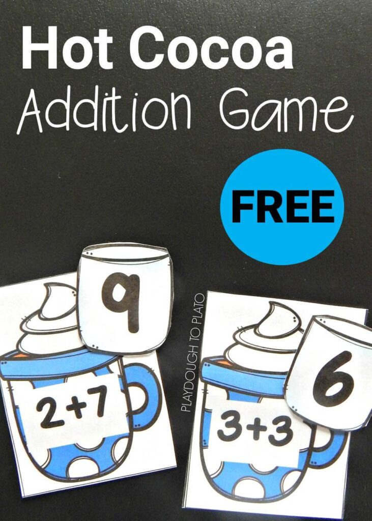 hot chocolate addition game pin