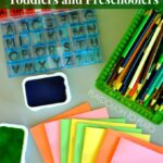 Easy Writing Journals for Toddlers and Preschoolers