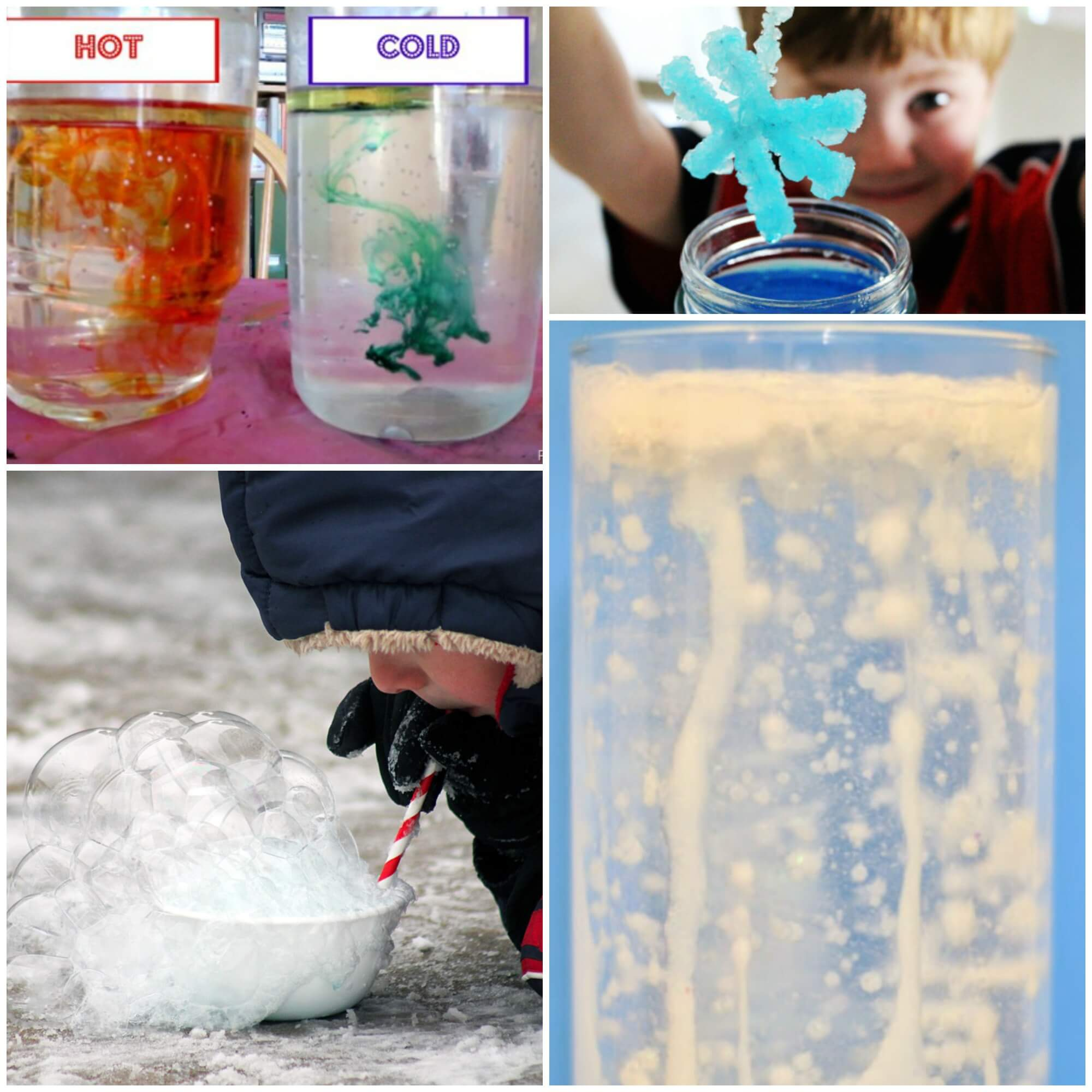 Frozen themed science experiments for kids Lots