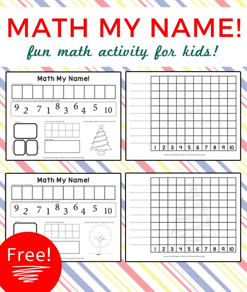 Math My Name!