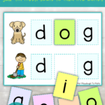 Vowel Word Cards and Puzzles